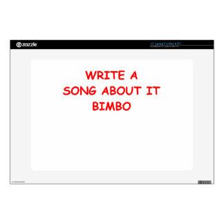 """BIMBO 15"""" LAPTOP SKINS"""