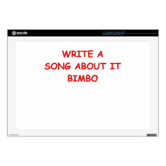 BIMBO SKIN FOR LAPTOP