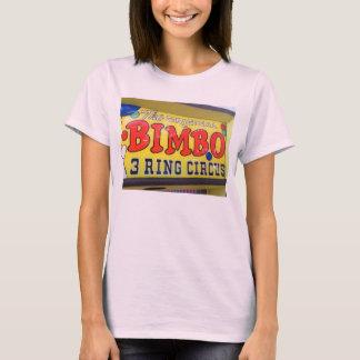 Bimbo Three Ring Circus Arcade Amusement t-shirt
