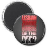 Bimbos lesbianos del zombi del imán muerto