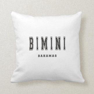 Bimini Bahamas Throw Pillow