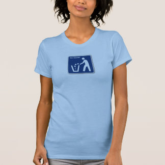 bin appetit blue tee shirt