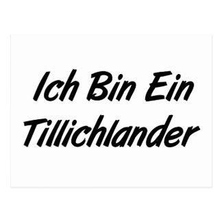 Bin Ein Tillichlander de Ich Tarjetas Postales