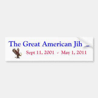 Bin Laden Bumper Sticker #21