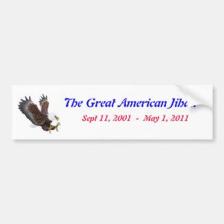 Bin Laden Bumper Sticker #33