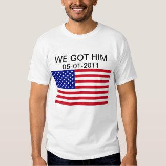 Bin Laden Is Dead Tee Shirt