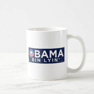 Bin Lyin de Obama Taza