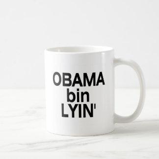 Bin Lyin de Obama Tazas