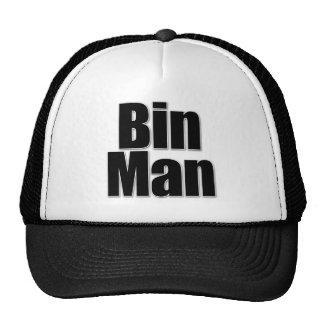 BIN MAN TRUCKER HAT