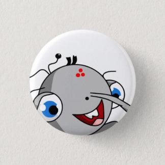 Bin Master Cheats Badge Pinback Button
