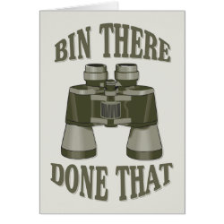Bin There, Done That Greeting Card