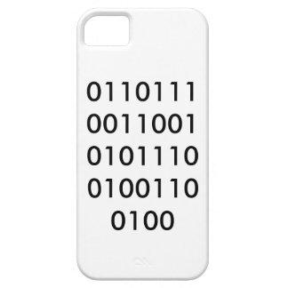 Binario del EMPOLLÓN Funda Para iPhone 5 Barely There