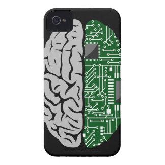 Binario que piensa el caso de alta tecnología del iPhone 4 Case-Mate carcasas
