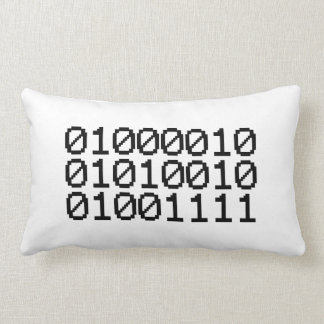 BINARY BRO LUMBAR PILLOW