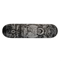Binary Buddha Skateboard
