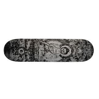 Binary Buddha Skateboard