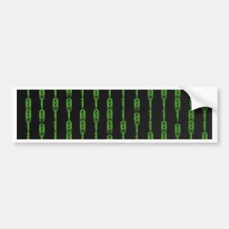 Binary Car Bumper Sticker