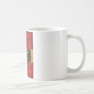 Binary Bypass Robot Heart Coffee Mug