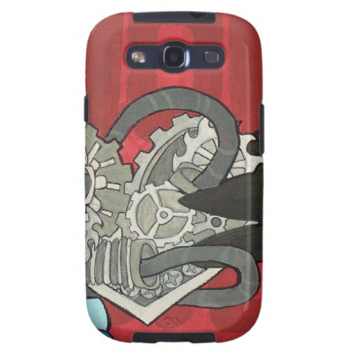 Binary Bypass Robot Heart Galaxy SIII Cases