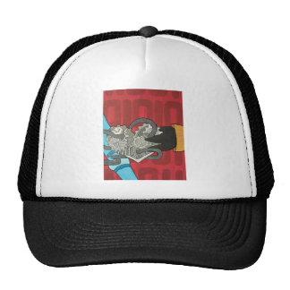 Binary Bypass Robot Heart Trucker Hat