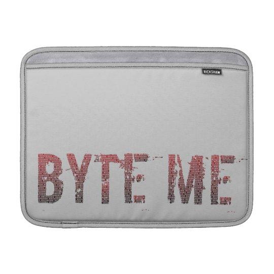 Binary Byte Me MacBook Air Sleeve