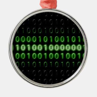 binary-code-475-bi metal ornament
