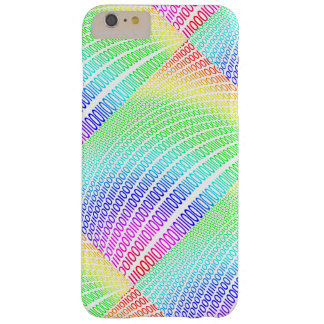 Binary Code Barely There iPhone 6 Plus Case