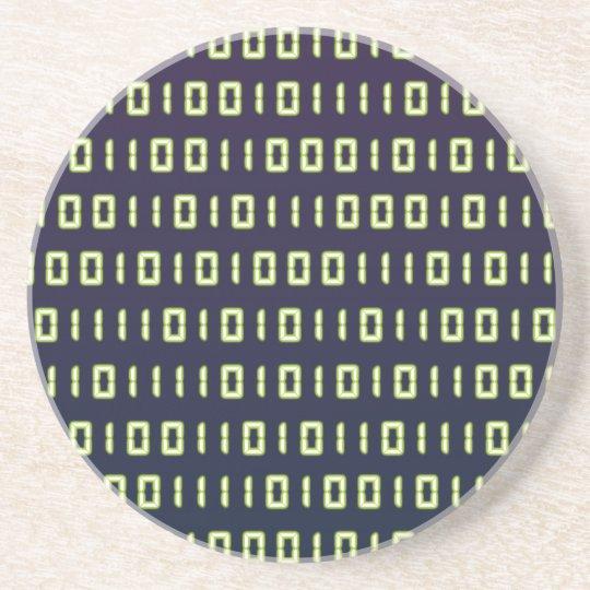 Binary Code Coaster