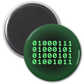 Binary code for GEEK 2 Inch Round Magnet
