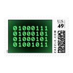 Binary code for GEEK Postage