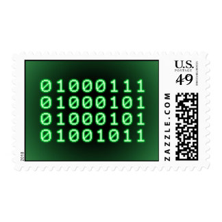 Binary code for GEEK Postage