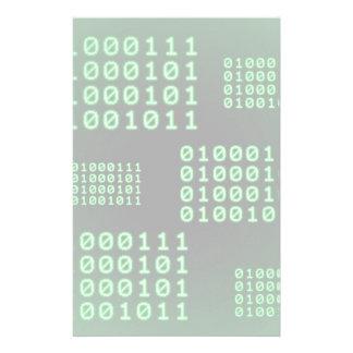 Binary code for GEEK Stationery