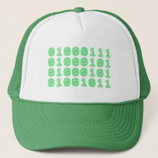 Binary code for GEEK Trucker Hat