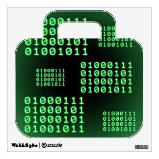 Binary code for GEEK Wall Sticker