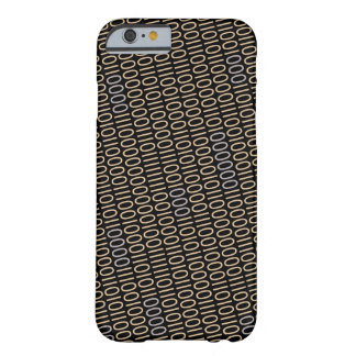 Binary Code Gray Blue Details on any Color Barely There iPhone 6 Case