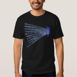 Binary Code Inside Geek Shirt