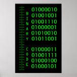 Binary Code Poster