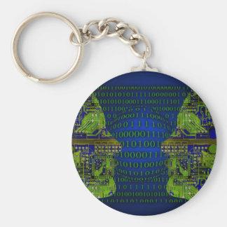 Binary Communicaton Keychains