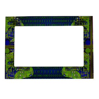 Binary Communicaton Magnetic Picture Frame