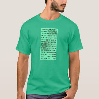 Binary computer code T-Shirt