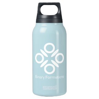 Binary Formations Big Logo Insulated Water Bottle