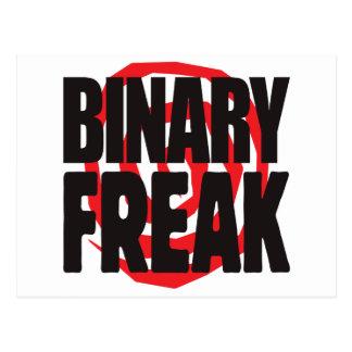 Binary Freak Postcard