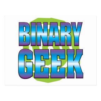 Binary Geek v3 Postcard