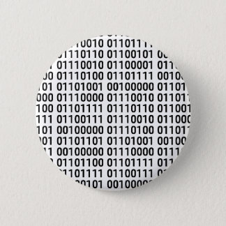 Binary: I Love To Program Pinback Button