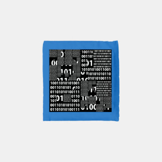 Binary in Black & White Reusable Bag