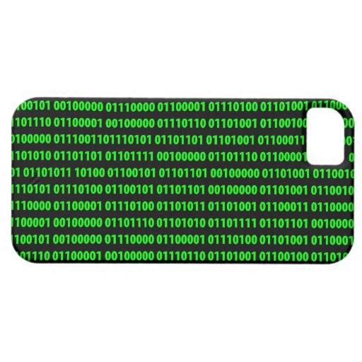 Binary iPhone 5 Covers