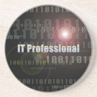 Binary IT Professional Beverage Coaster