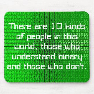 binary joke mouspad mousemats