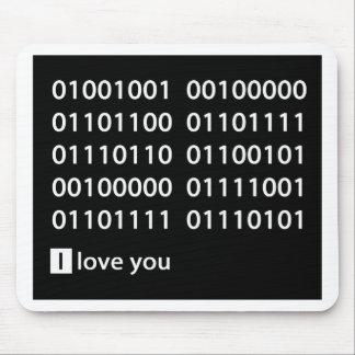 Binary Love Mouse Pad