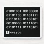 Binary Love Mousepad